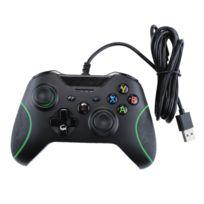 Wewoo - Gamepad contrôleur jeu d'USB câblé pour la console Xbox One / Pc / ordinateur portable longueur câble: environ 2.1m