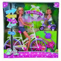 SMOBY - Steffi Love promenade a vélo + Evi - 105733045