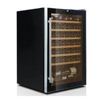 Caviss - Cave à vin de service - 1 temp 48 bouteilles - Noir Aci-cvs115 - Pose libre