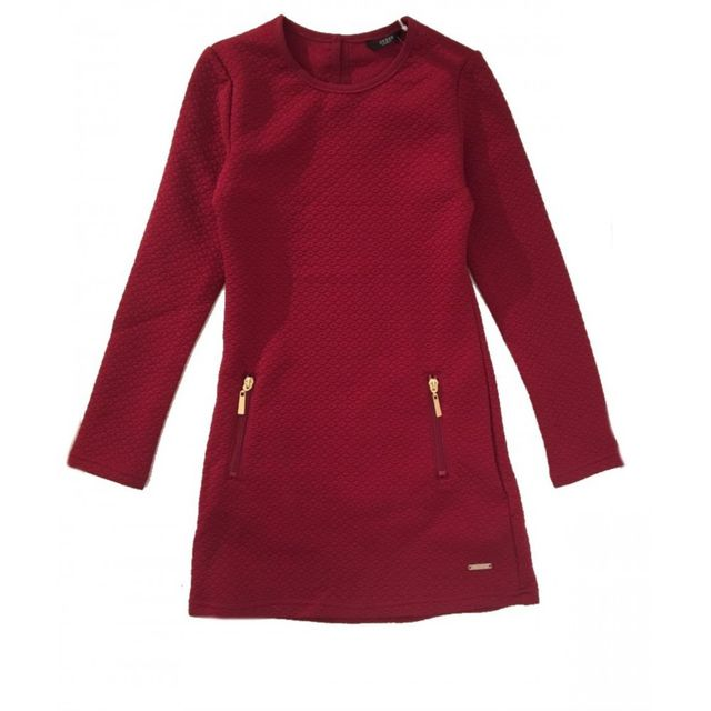Guess Robe Bordeaux Fille Achat Pas Raspberry Vente Cher 1rv1xawq