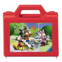 Ravensburger - Puzzle 6 cubes : Mickey en vadrouille