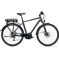 Cube - Vélo Électrique Touring Hybrid 400 Men Grey´n´flashred 2017 54 Cm