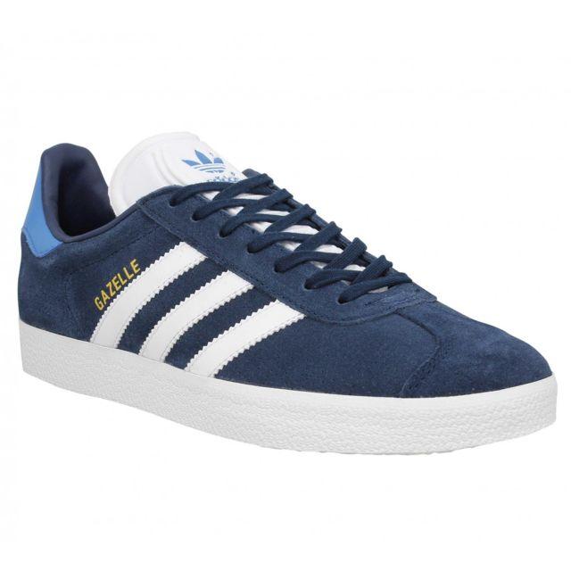 huge discount d3a53 25ed5 Adidas - Gazelle velours Homme-40-Bleu Roi - pas cher Achat  Vente Baskets  homme - RueDuCommerce
