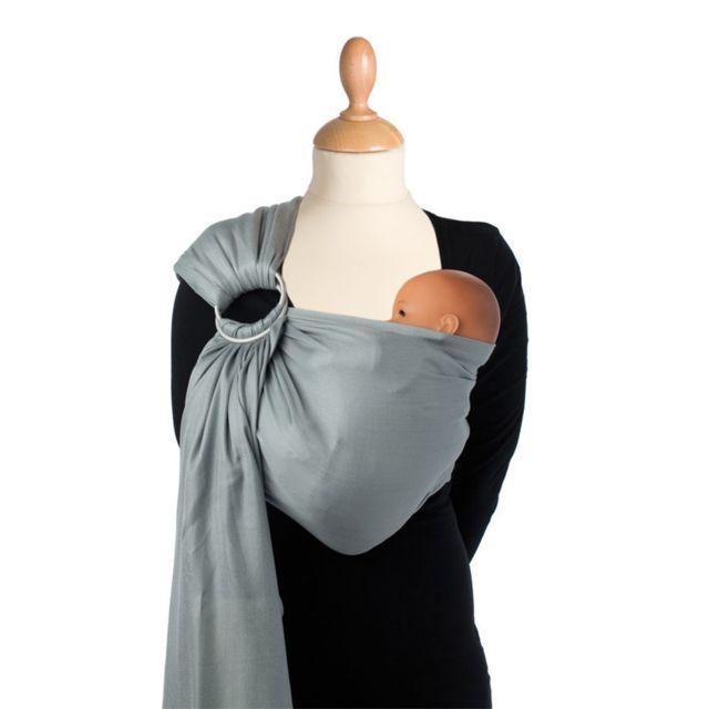 Babylonia - Echarpe de Portage Sling Gris Violet - pas cher Achat   Vente  Porte-bébés - RueDuCommerce c4a684e025f