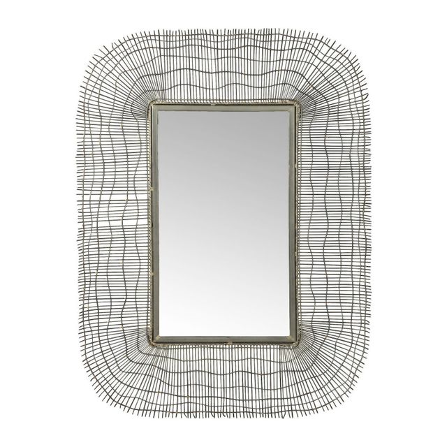 Karedesign Miroir Wire Net 80x60cm Kare Design