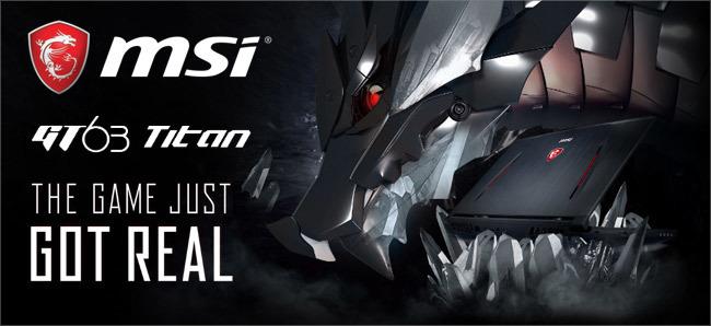 MSI GT63