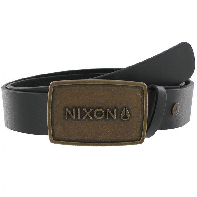 Nixon - Ceinture Wordmark Raw Antique Gold Quelle personnalité Noir - pas  cher Achat   Vente Ceinture homme - RueDuCommerce dc4d476a7a2
