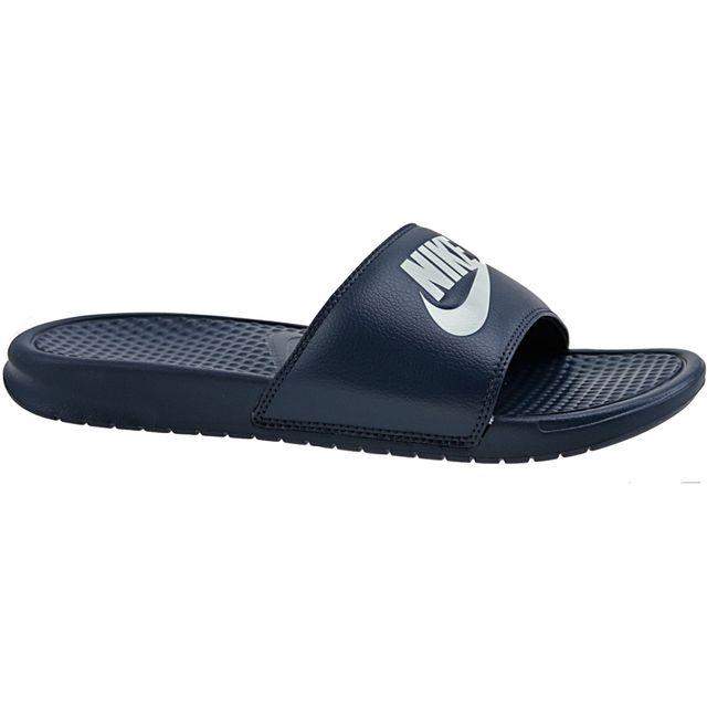 buy popular 36658 6b469 Nike - Benassi Jdi 343880-403 Bleu - pas cher Achat   Vente Sandales et  tongs homme - RueDuCommerce