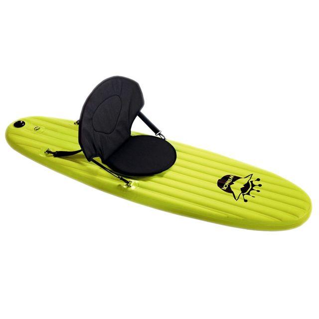 Coolminiprix Paddle Fun Board gonflable 1m70 vert avec pagaie et pompe - Qualité