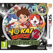 NINTENDO - Yo-Kai Watch 2 Esprits Farceurs + médaillon - Édition Limitée - 3DS