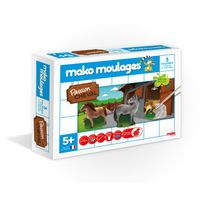 Mako - Moulages chevaux 3 moules - 39008
