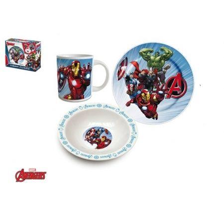 Marvel Set Déjeuner 3 pièces - Avengers