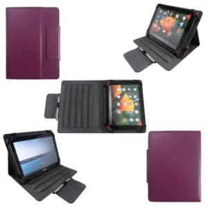 xeptio housse universelle tablette 10 pouces violette. Black Bedroom Furniture Sets. Home Design Ideas