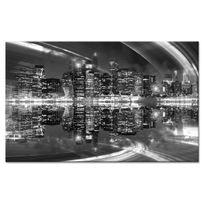 Declina - Tableau noir et blanc New York - Photo sur toile imprimée