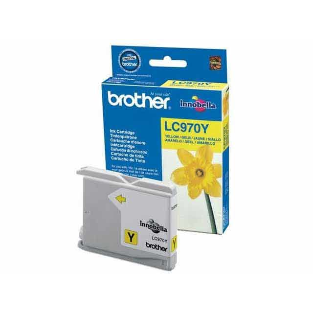 BROTHER LC970Y - Cartouche d'encre Jaune