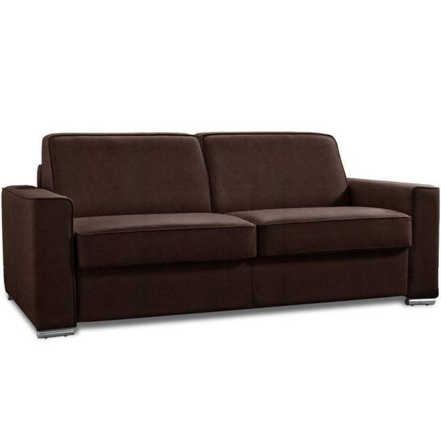 inside 75 canap convertible ouverture rapido premium 140 cm sommier lattes renatonisi matelas. Black Bedroom Furniture Sets. Home Design Ideas