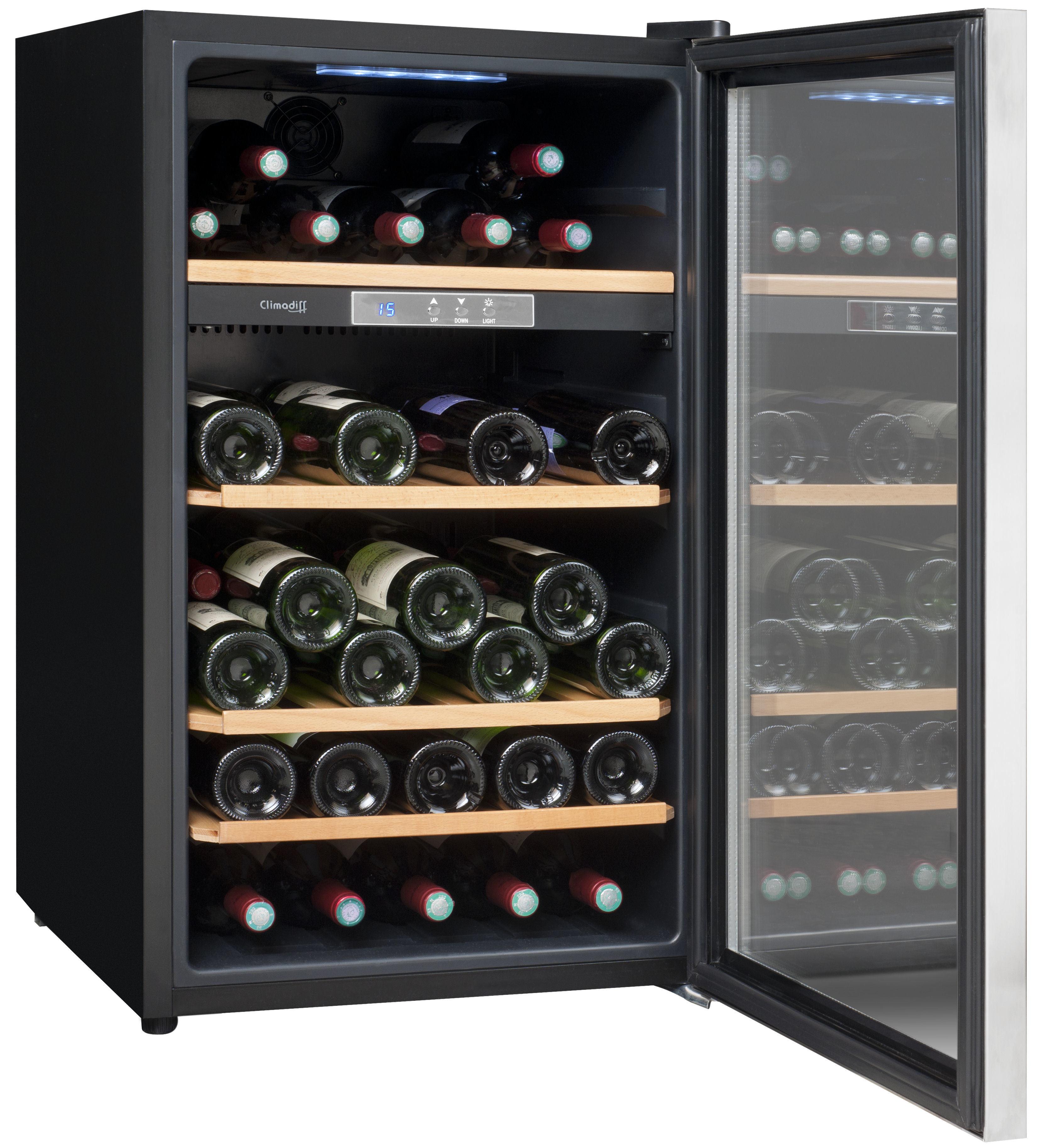 climadiff cave de service cls52 pas cher achat vente cave vin rueducommerce. Black Bedroom Furniture Sets. Home Design Ideas