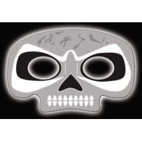 Action Fluo - Masque Squelette Lumineux