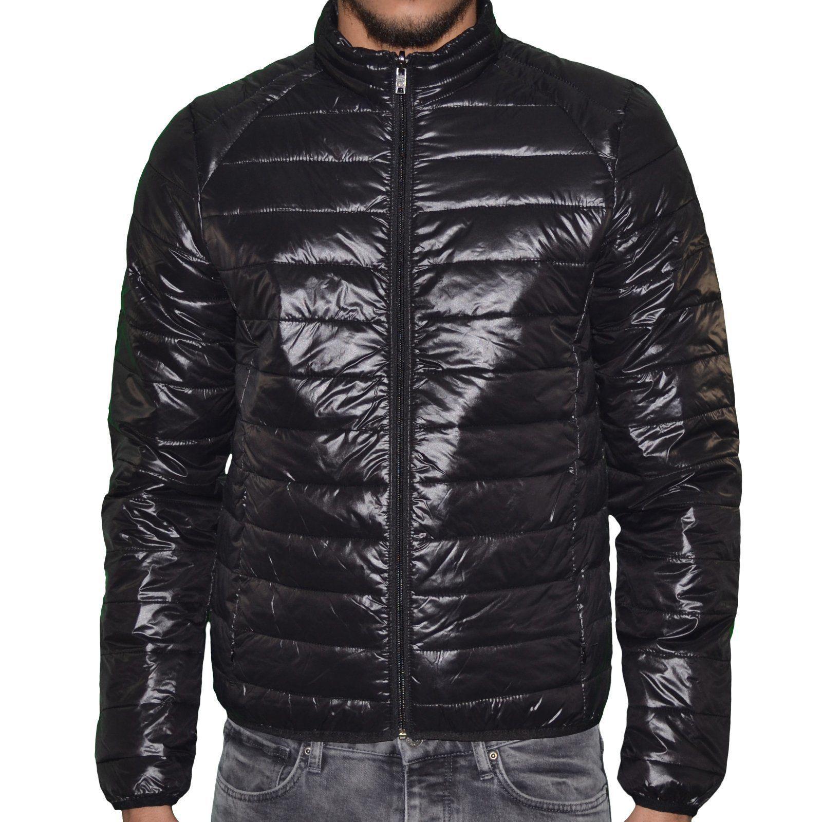Doudoune Légère - Homme - Silk - Noir Brillant