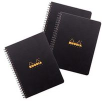 Rhodia - Pack 2 + 1 cahiers Notebook ctive A5