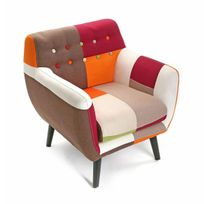 fauteuil multicolore Achat fauteuil multicolore pas cher Rue du