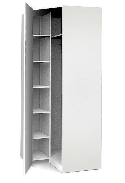 armoire - achat armoire pas cher - rue du commerce - Meuble Haut D Angle Cuisine