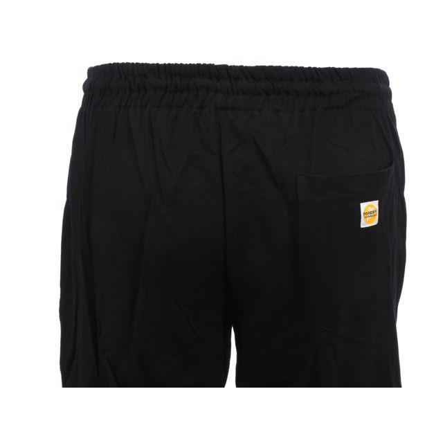 Panzeri - Pantalon de survêtement Uni h nr/fl vert pant Noir 40297
