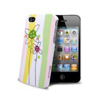 Muvit - Coque ? Doodle Flowers iPhone 4S/4