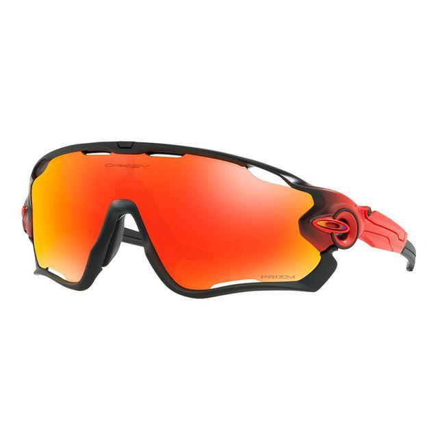 f757e6cc1795f7 Oakley - Lunettes Jawbreaker Ruby Fade Collection gris rouge avec verres  Prizm Ruby miroir - pas cher Achat   Vente Lunettes - RueDuCommerce