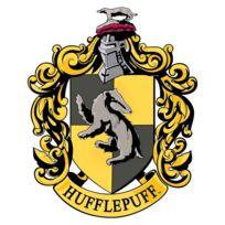 Bebe Gavroche - Blason en carton Maison Poufsouffle Poudlard Harry Potter 61X48 Cm