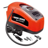 Black & Decker - Asi300 Compresseur voiture 12V / secteur 11 Bar / 160 Psi