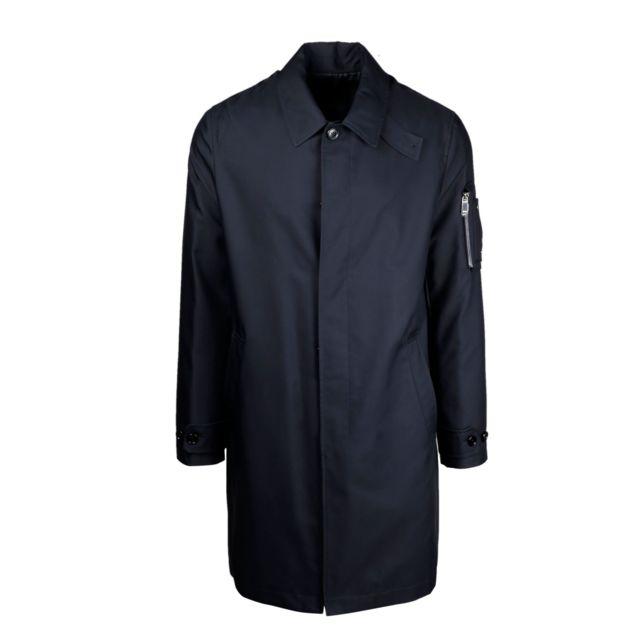 Christian Dior Dior Homme 013C301A4733540 Bleu Coton Manteau