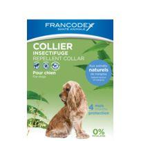 Francodex - Collier Insectifuge Chien - Pour chien de 10kg à 20kg