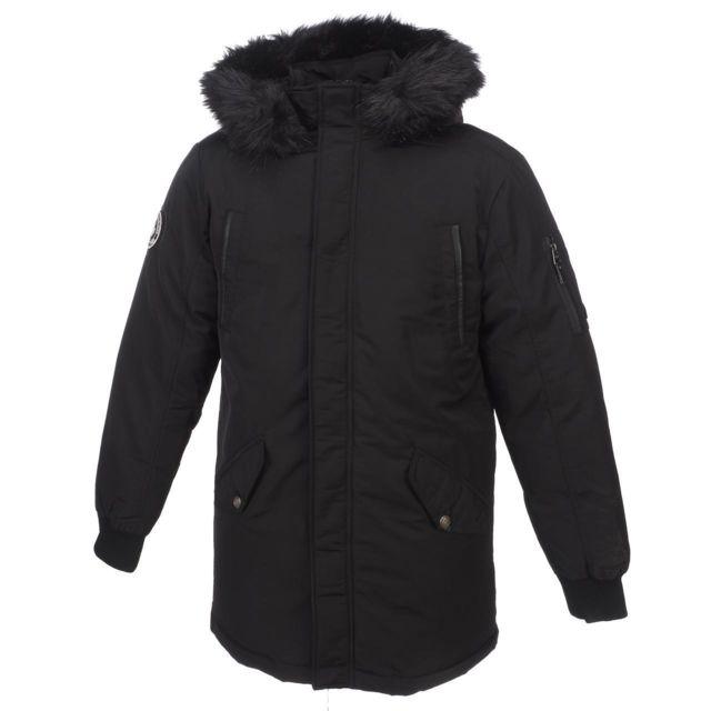 758ffb616979 Deeluxe - Parkas cabans Sharkson noir jacket Noir 14854 - pas cher Achat   Vente  Blouson femme - RueDuCommerce
