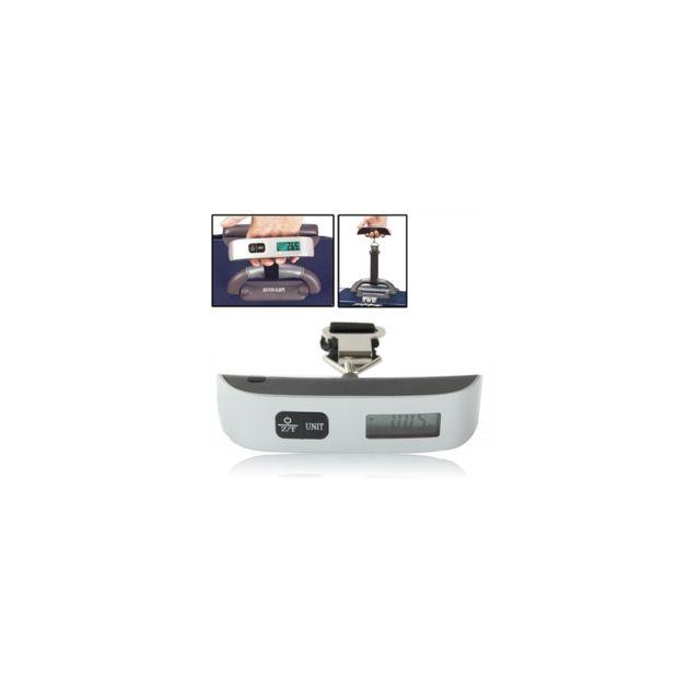 Auto-hightech Mini balance électronique de voyage avec fonction tare Noir