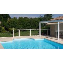 - Panneau transparent pour barrière de sécurité piscine