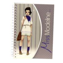 Avenue Mandarine - Carnet Miss Modeline Creativ'Model A6 : Joe