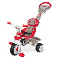 Smoby - baby driver confort rouge