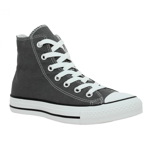 f637c4ee9ffe1 Converse - Chuck Taylor All Star Hi toile Homme-45-Anthracite - pas cher  Achat   Vente Baskets homme - RueDuCommerce