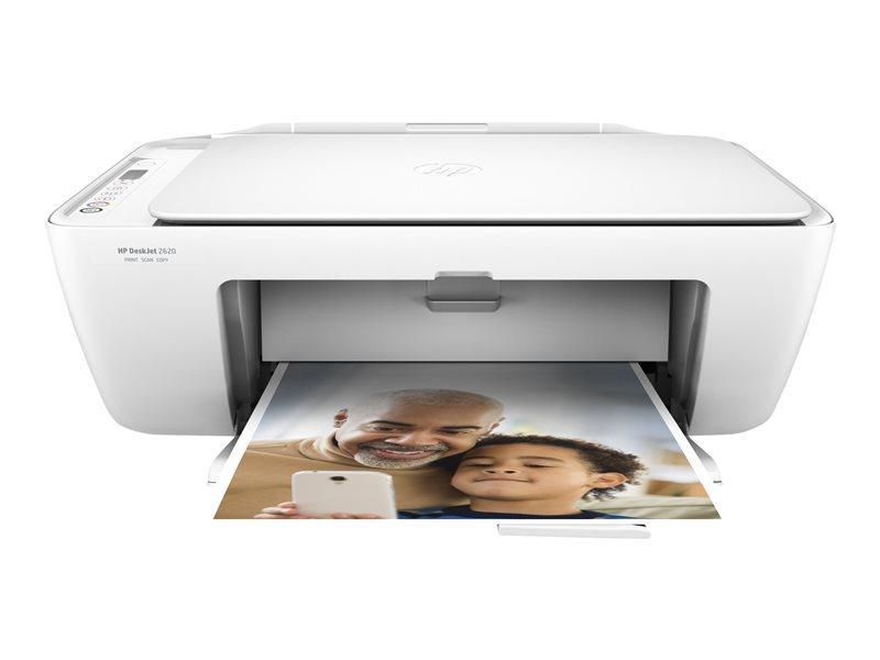 HP Imprimante multifonctions 4 en 1 Deskjet 2620 - Blanc