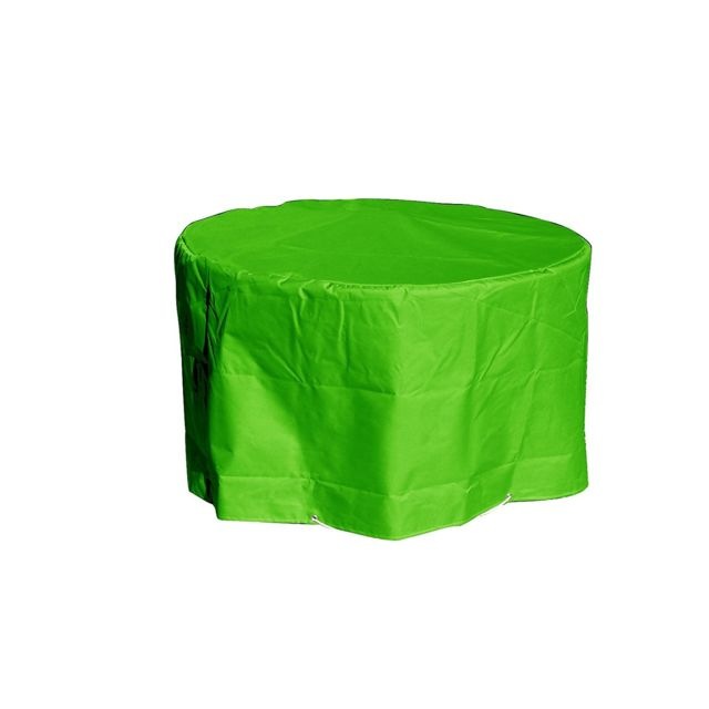 Green Club Housse table ronde Ø 120 x h 70 cm Vert anis