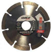 WellCut - Disque Standard Diamant Segmente - Taille - Ø 115 x 22.23mm