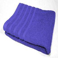 Decoline - Serviette de toilette 90 x 150 cm bleu