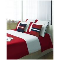 linge de lit tommy hilfiger achat linge de lit tommy hilfiger pas cher rue du commerce. Black Bedroom Furniture Sets. Home Design Ideas