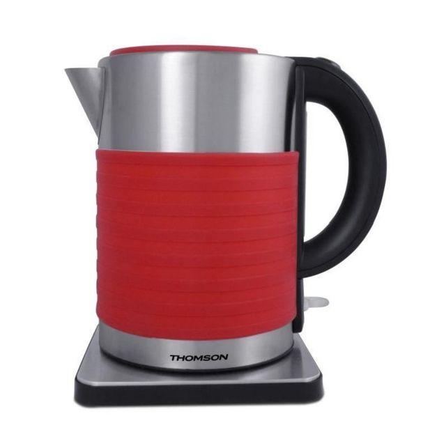 Thomson Thke07693R Bouilloire électrique isotherme - Rouge