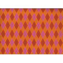 Oz - 22262 Papier Arlequin Orange/FUCHSIA