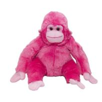 Wild Planet - All About Nature - Wild Planet All About Nature Peluche Chimpanzé Rose 20 Cm