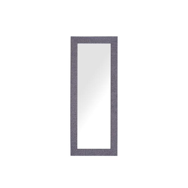 BELIANI Miroir mural gris lilas 50 x 130 cm LILAS - gris