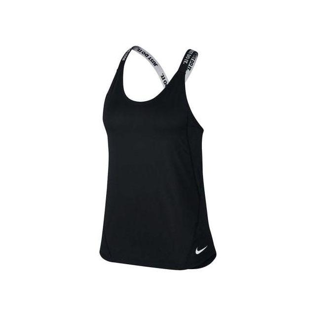 Nike - T-shirt à bretelles Dry Tank Elastika noir gris femme - pas cher  Achat   Vente Tee-shirts f0a105713b8