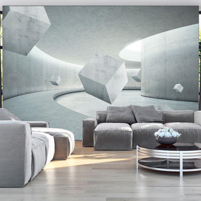 Papier peint Geometry of the Cube Décoration, image, art   3D et Perspective